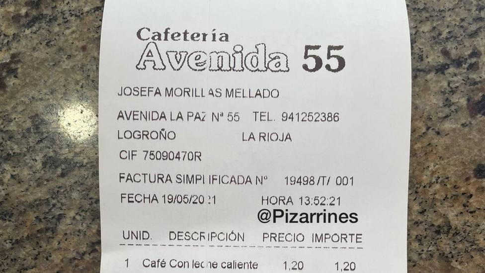 Muy atento a la factura del café: un bar de Logroño ya empieza a cobrar por este detalle