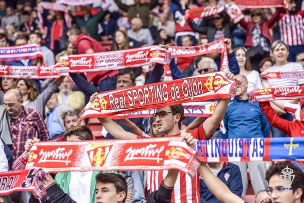 El Sporting recibe al Almería con la vuelta de los aficionados a El Molinón