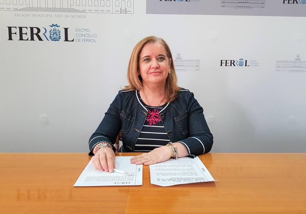Rosa Martínez Beceiro, concejala del grupo municipal del PP de Ferrol. FOTO: PP Ferrol