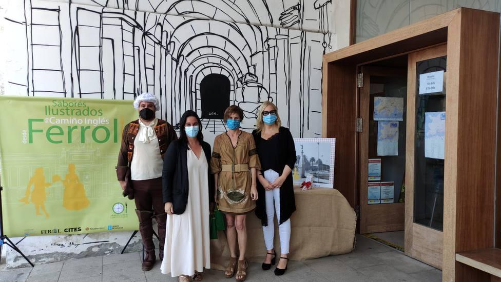 Participantes en la iniciativa que promueve CITES - FOTO: Concello de Ferrol