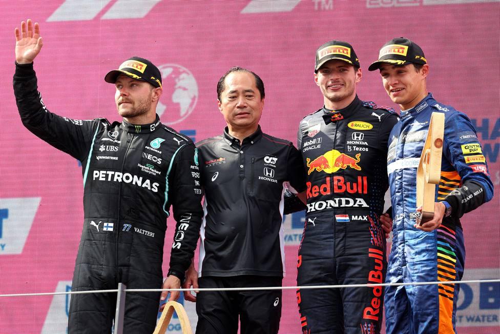 Podio GP Austria