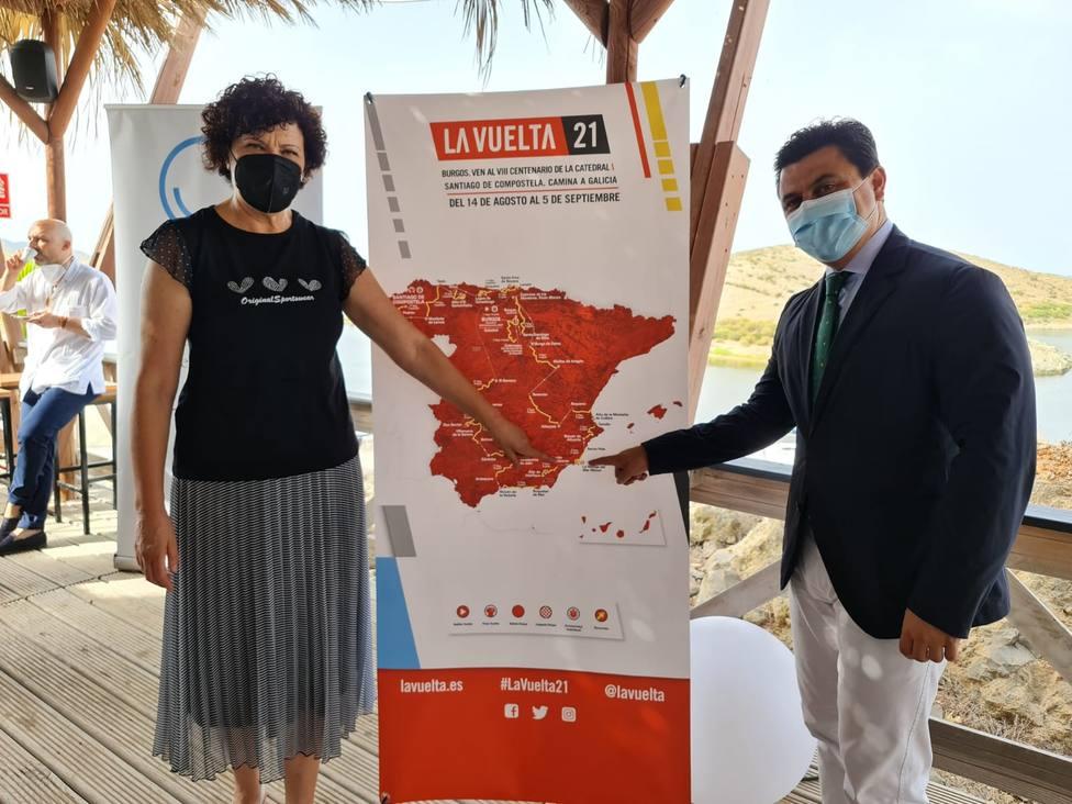 Puerto Lumbreras se prepara para acoger el 22 de agosto la salida de la novena etapa de la Vuelta Ciclista