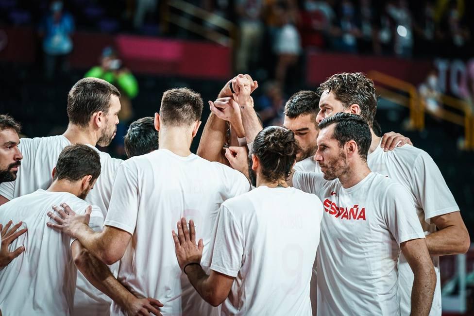 La selección española se despide de Japón