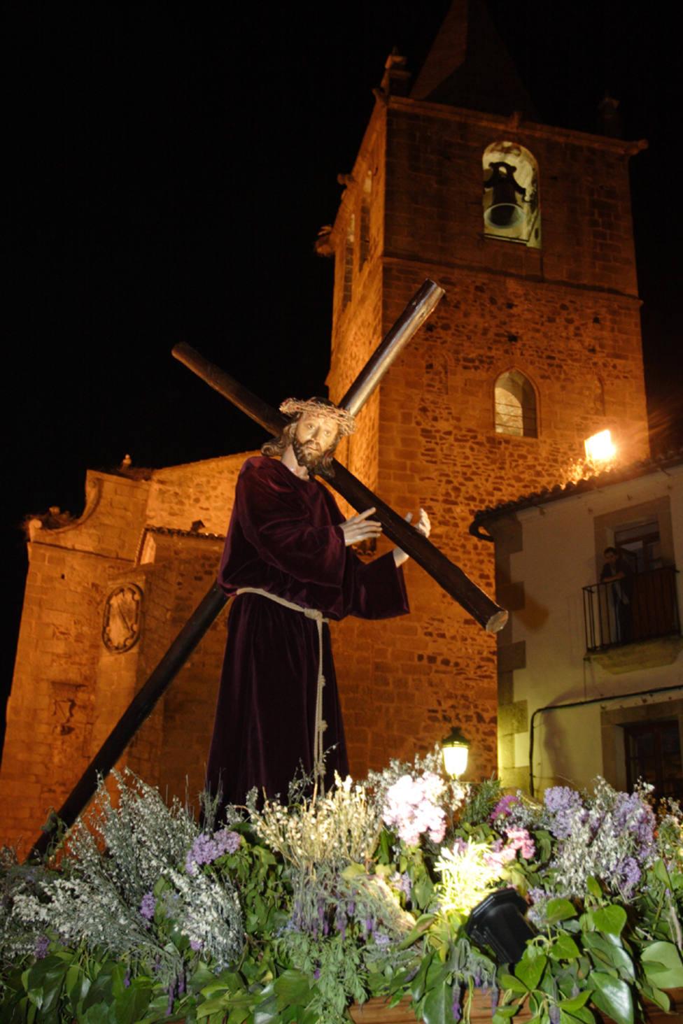 Cristo del Amparo. Unión Cofradías Penitenciales de Cáceres