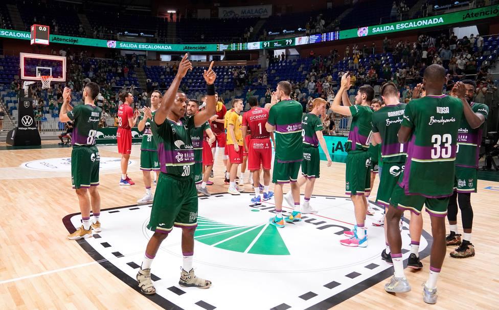 Unicaja completó un enorme debut en ACB. Foto: Mariano Pozo