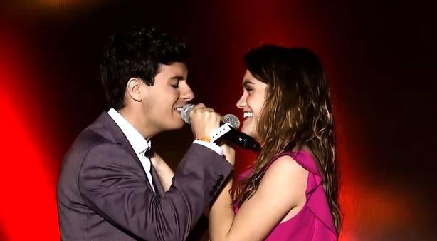 Amaia y Alfred encandilan a Tel Aviv en un concierto eurovisivo de récord
