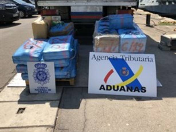 Desmantelada una organización liderada desde Galicia que introducía hachís por Murcia y Alicante