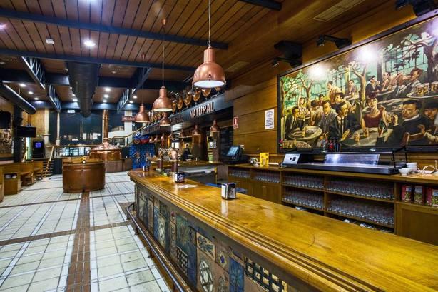 Cervecería Estrella Galicia en Cuatro Caminos (foto: Estrella Galicia)