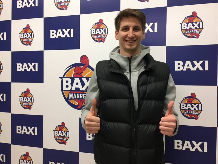 Zubcic (Manresa): Espero tener una gran temporada y disfrutar