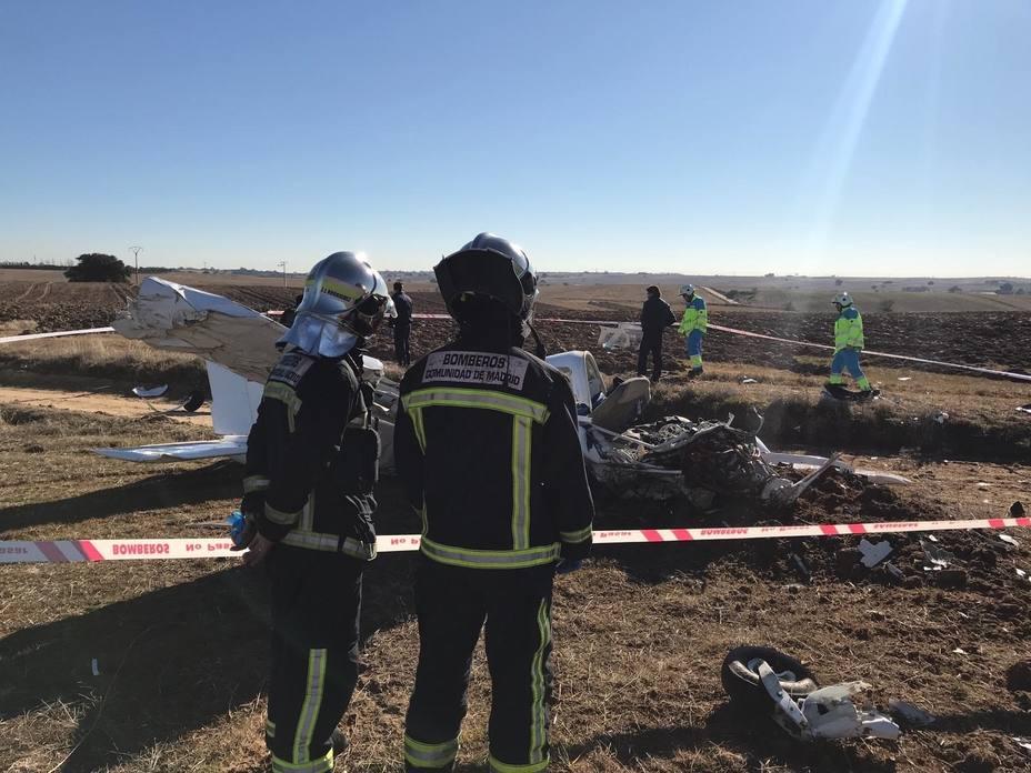 Los dos fallecidos en un accidente de avioneta en Quijorna (Madrid) eran una instructora de 30 años y un alumno de 26