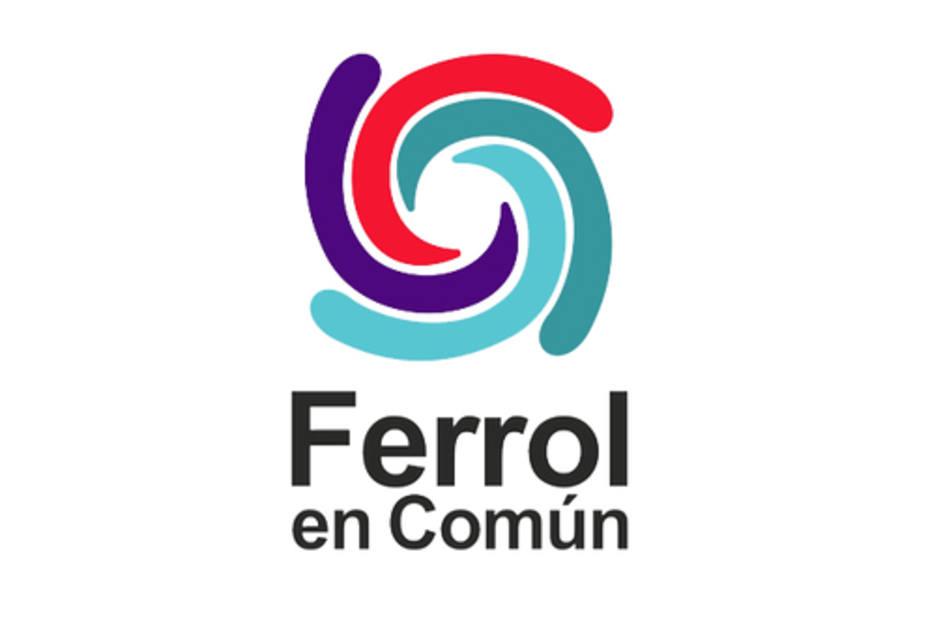 Logotipo de Ferrol en Común