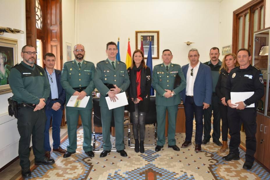 El Ayuntamiento reconoce la labor de Guardia Civil y Policía Local en la operación Fransena II