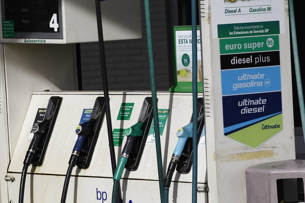 El precio del gasóleo y de la gasolina