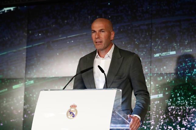 Fútbol.- Zidane: He descansado en estos meses y estoy listo, tal vez hace cuatro meses no hubiese sido asi