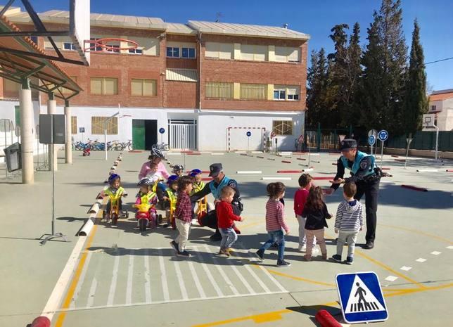 1.500 niños aprenden educación vial en Puerto Lumbreras