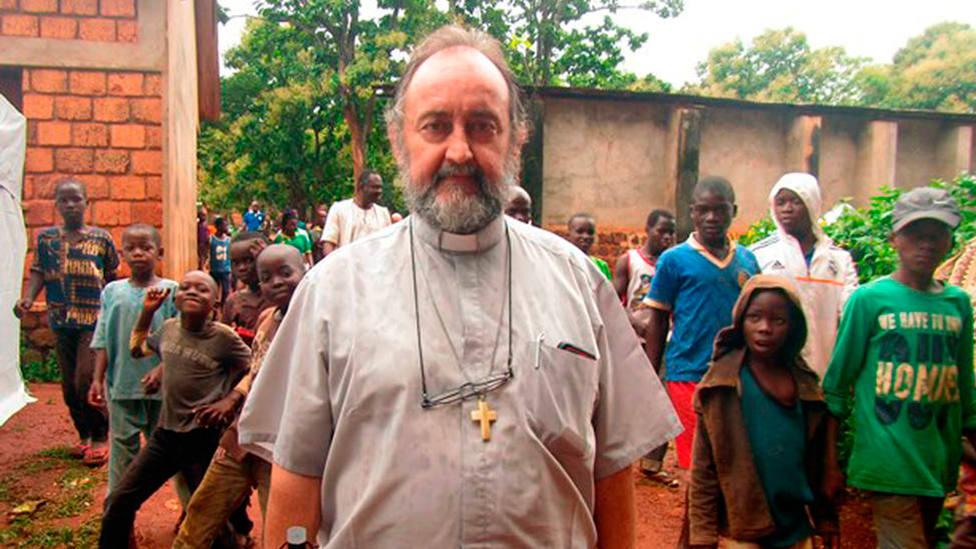Resultado de imagen de obispo aguirre bangassou
