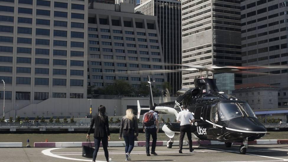 El ubercóptero empezará a sobrevolar Nueva York el 9 de julio
