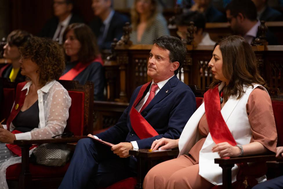 Valls agradece un elogio de Lambán y afirma que Aragón le necesita como presidente