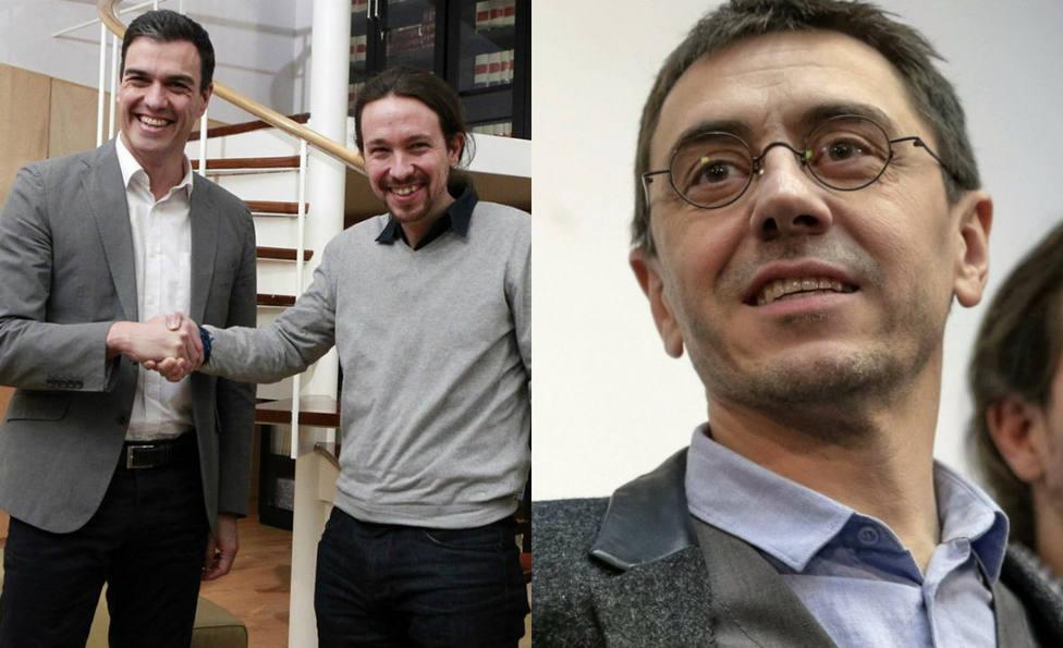 La ocurrencia literaria de Monedero para pedir a Sánchez un ministerio para Pablo Iglesias