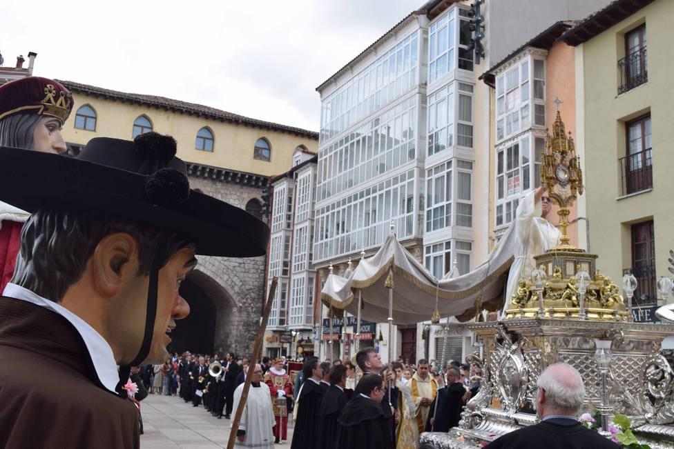 Procesión del Corpus Christi de Burgos.
