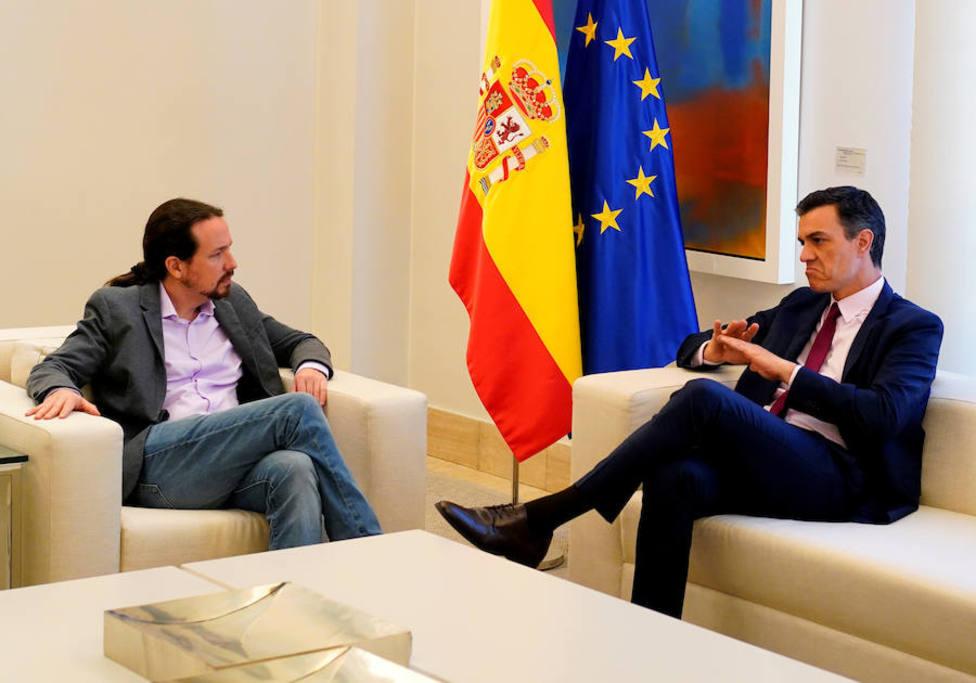 """Sánchez pone a Iglesias en su sitio: """"Quiere presidir un único Gobierno"""""""