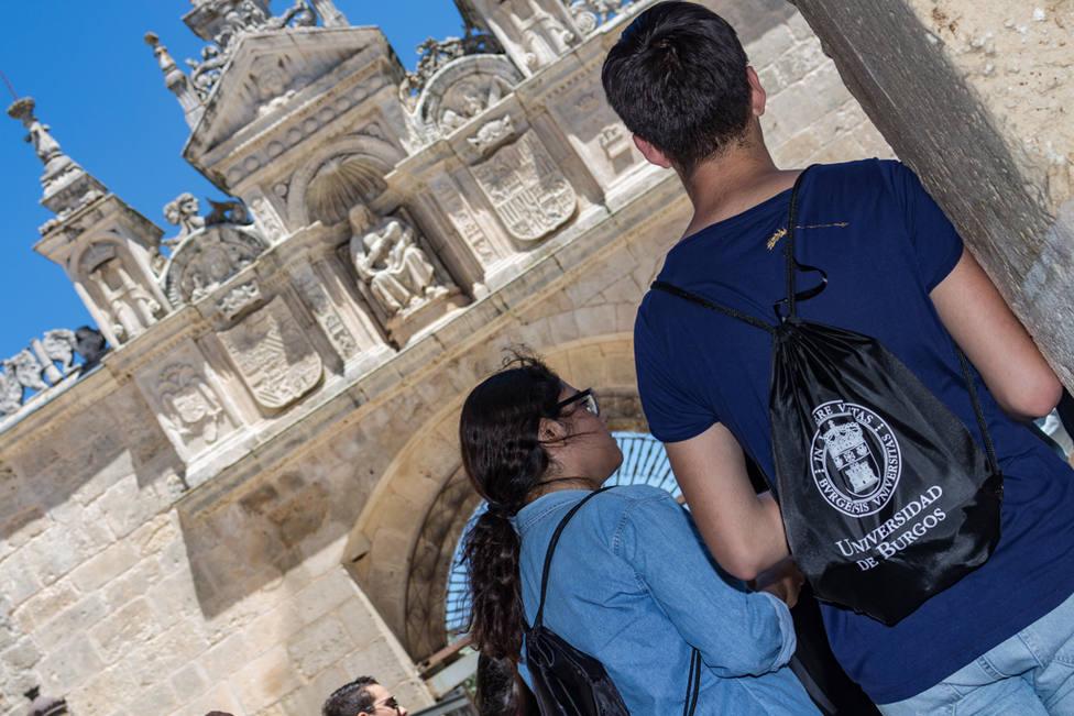 Alumnos en la Universidad de Burgos