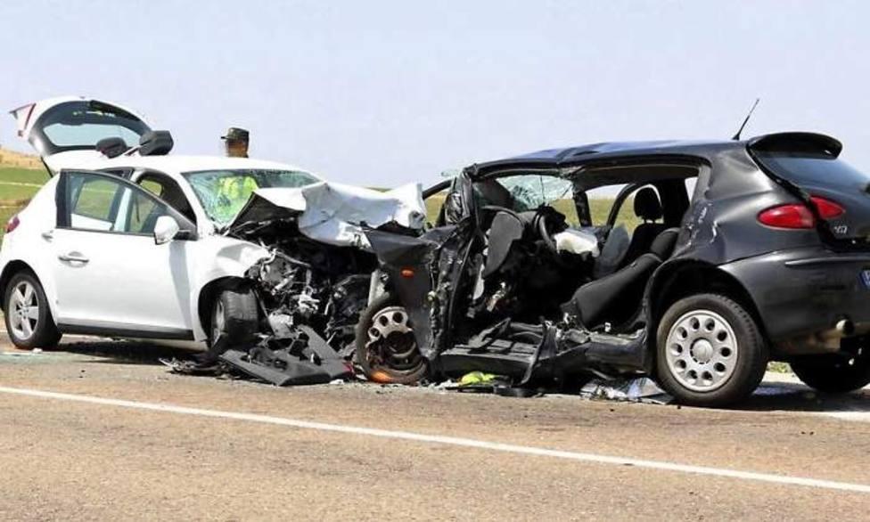 Un conductor que iba en sentido contrario fallece en un choque en Gabiria (Gipuzkoa)