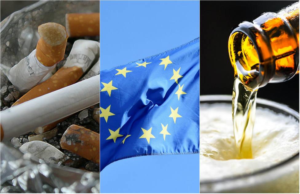 Europa, más dura que España con el tabaco y mucha más restrictiva con el alcohol