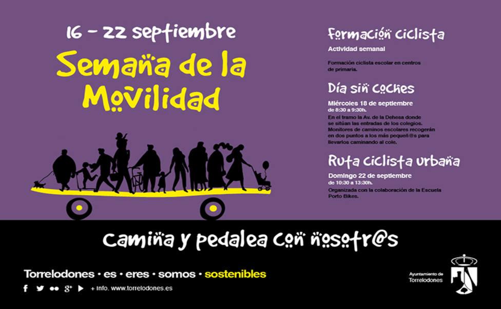 Semana de la Movilidad en Torrelodones