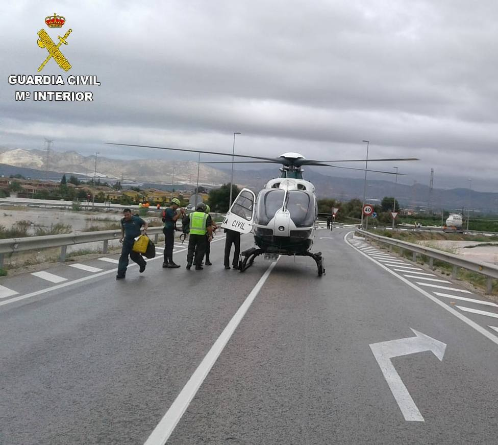 Más de 160 personas rescatadas en la provincia de Alicante por la DANA