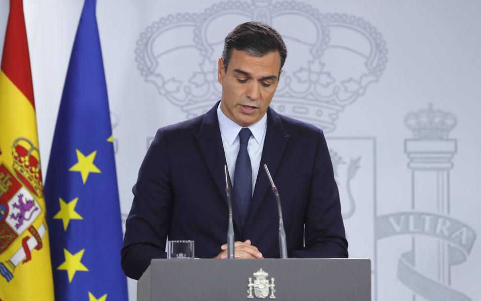 """Sánchez da por hecha la repetición de elecciones: """"Lo hemos intentado todo y no ha sido posible"""""""