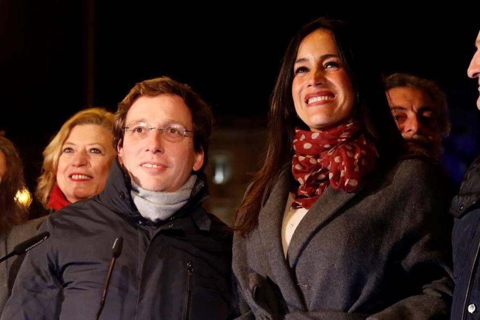 Almeida enciende su primera navidad con más gasto y 10 millones de bombillas
