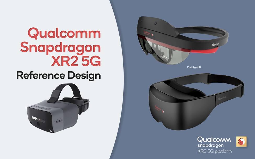 Qualcomm anuncia su nueva plataforma de realidad extendida, Snapdragon XR2 5G Reference Design