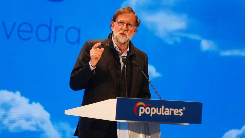 El último lapsus de Rajoy en su discurso en Pontevedra
