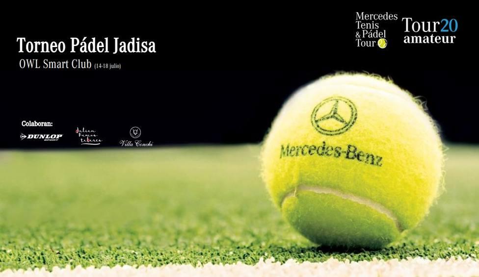 El mejor pádel amateur regresa a Jaén de la mano de Jadisa y Mercedes-Benz