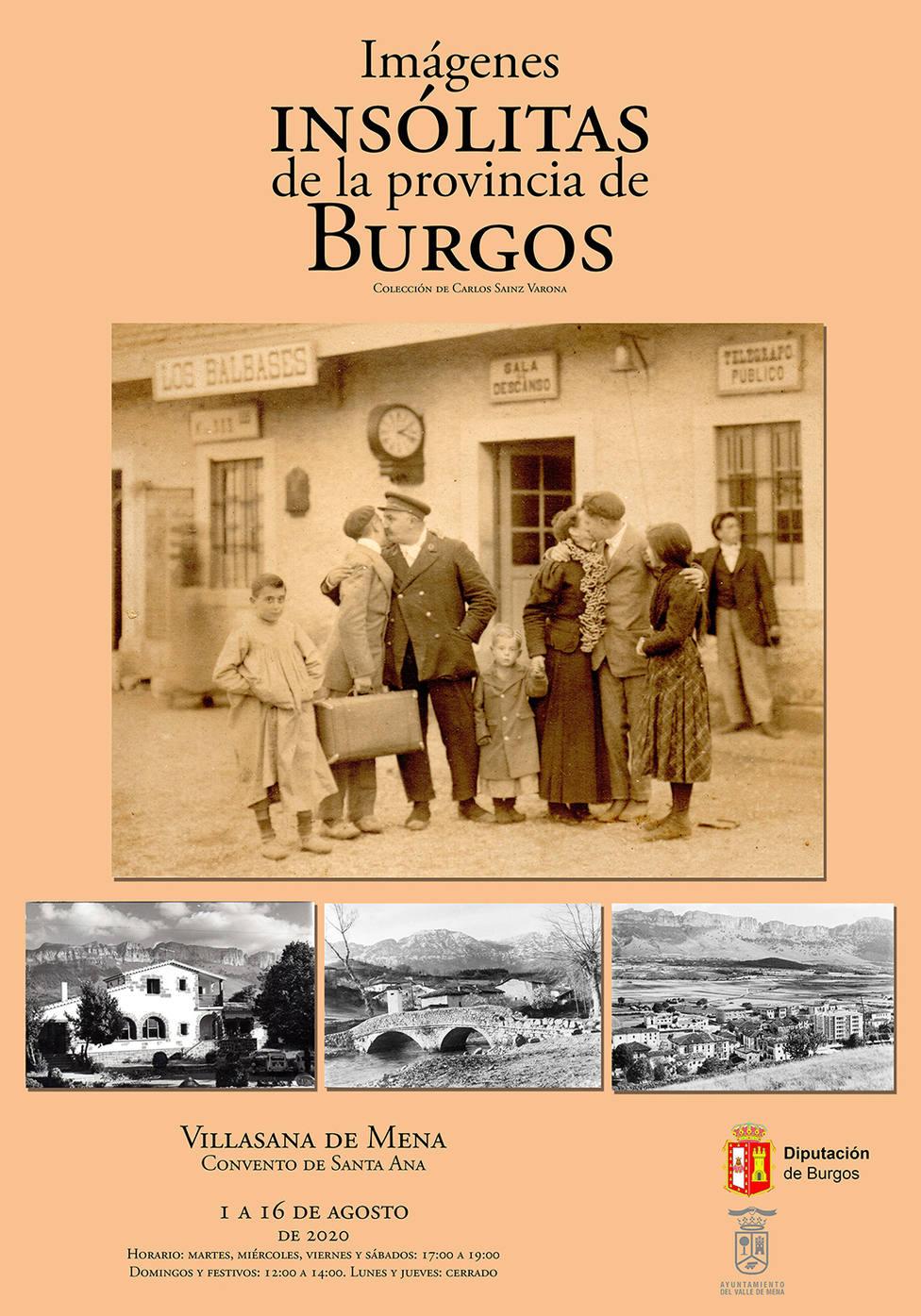 La exposición itinerante 'Imágenes insólitas de la provincia de Burgos' llega al Valle de Mena