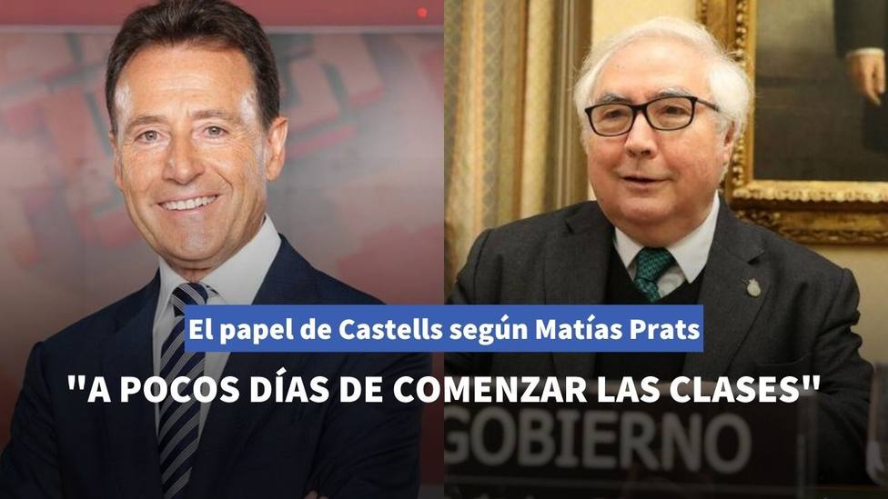 Matías Prats sentencia el papel de Manuel Castells en el Gobierno con un certero análisis en Antena 3