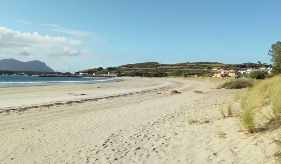 Foto de archivo de la playa de A Concha, en Espasante, Ortigueira - FOTO: Javier Gameroo