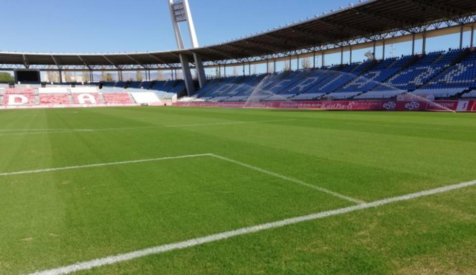 El Sporting visita al Almería