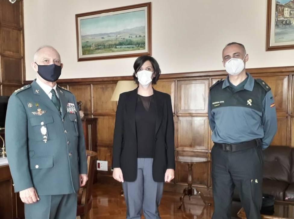 José Antonio Cubel sustituye a José Raposo como coronel jede de la X Zona de la Guardia Civil en La Rioja