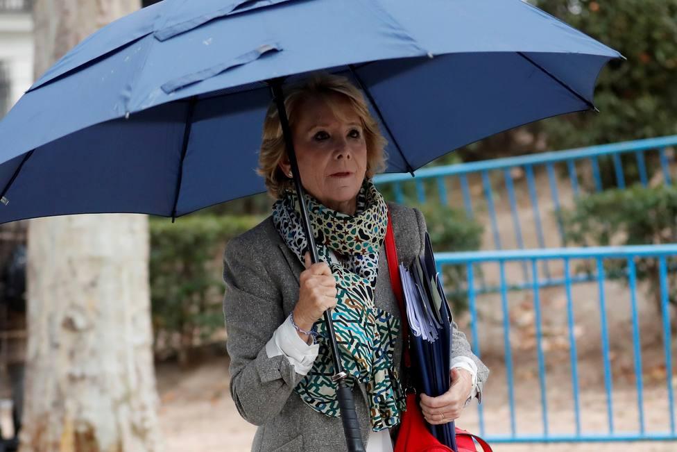 Aguirre cree que el Gobierno está en contra de Madrid porque hay libertad y los impuestos son bajos