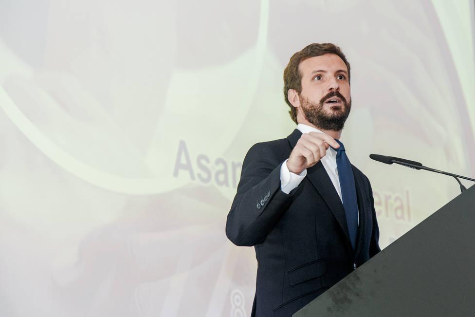 Pablo Casado interviene en la Asamblea General de la Empresa Familiar de Castilla-La Mancha (AEFCLM)