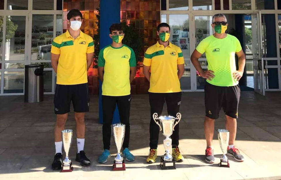 Trofeos logrados en este Campeonato de Andalucia de Barcos de equipo