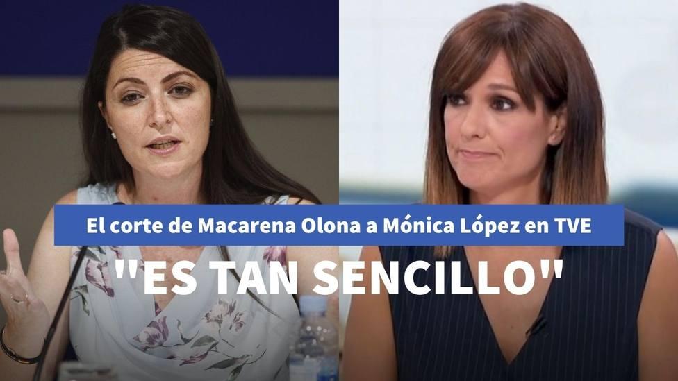 Macarena Olona y Mónica López