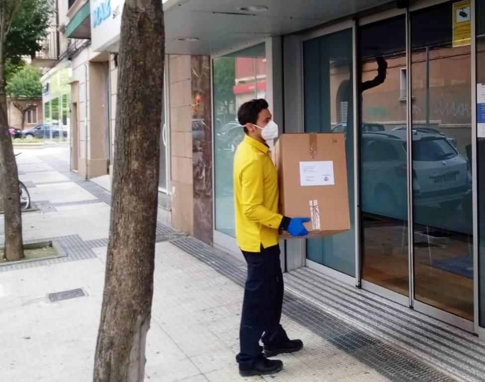 Reparto de Correos en Huesca