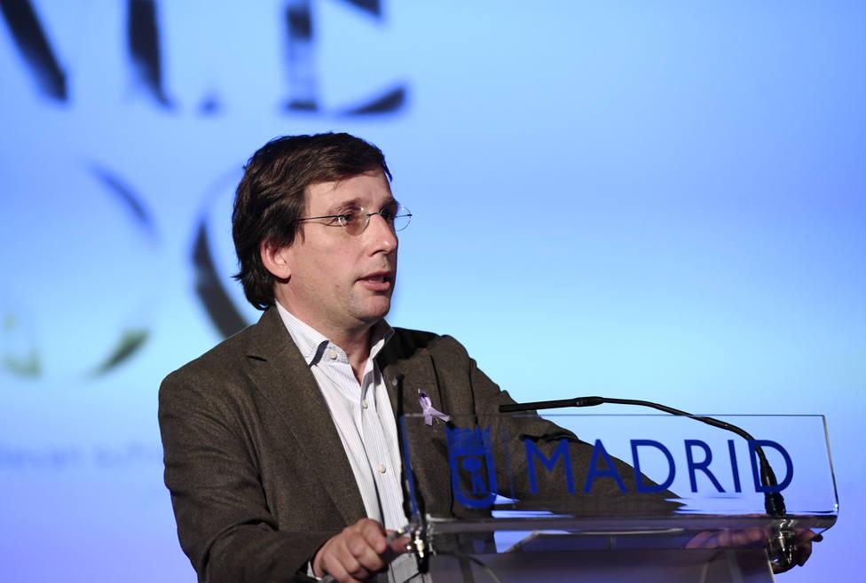 El regidor de Madrid y también portavoz del PP nacional, José Luis Martínez-Almeida