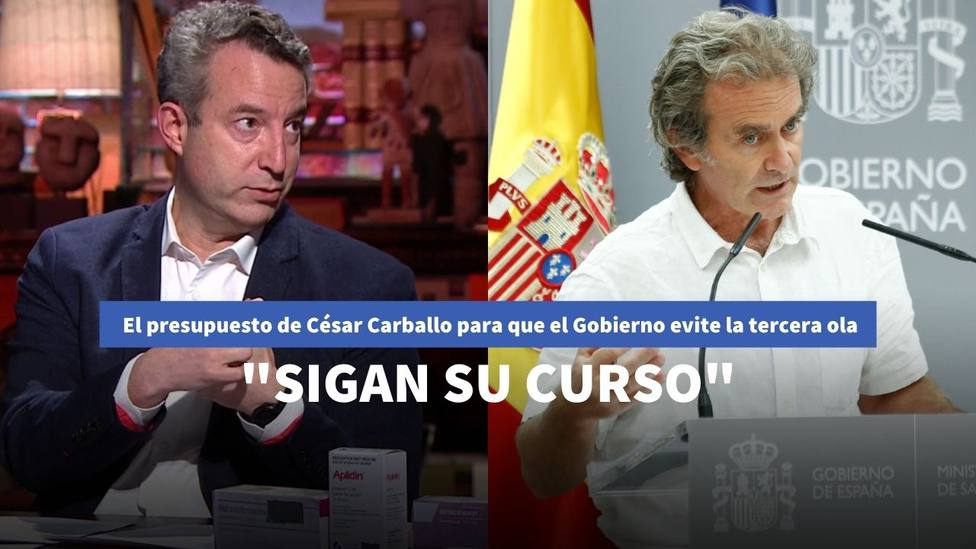 César Carballo y Fernando Simón