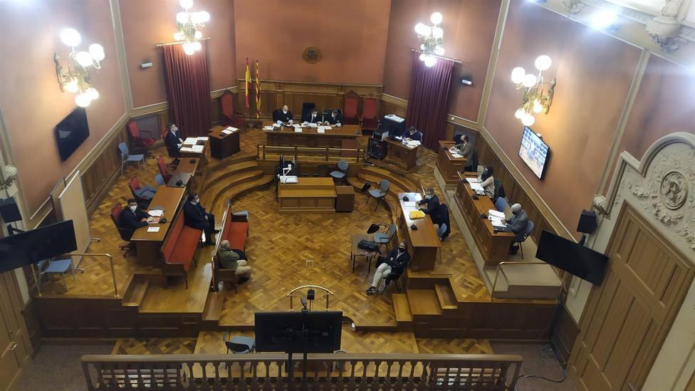 Imagen del juicio en la Audiencia de Barcelona