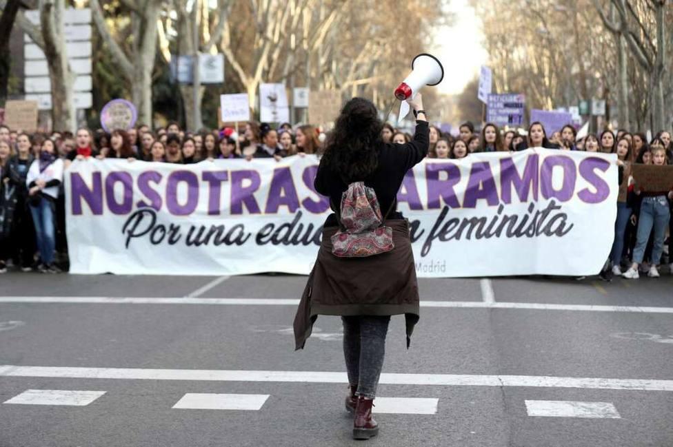 Manifestación por el 8-M. Agencias (Archivo)