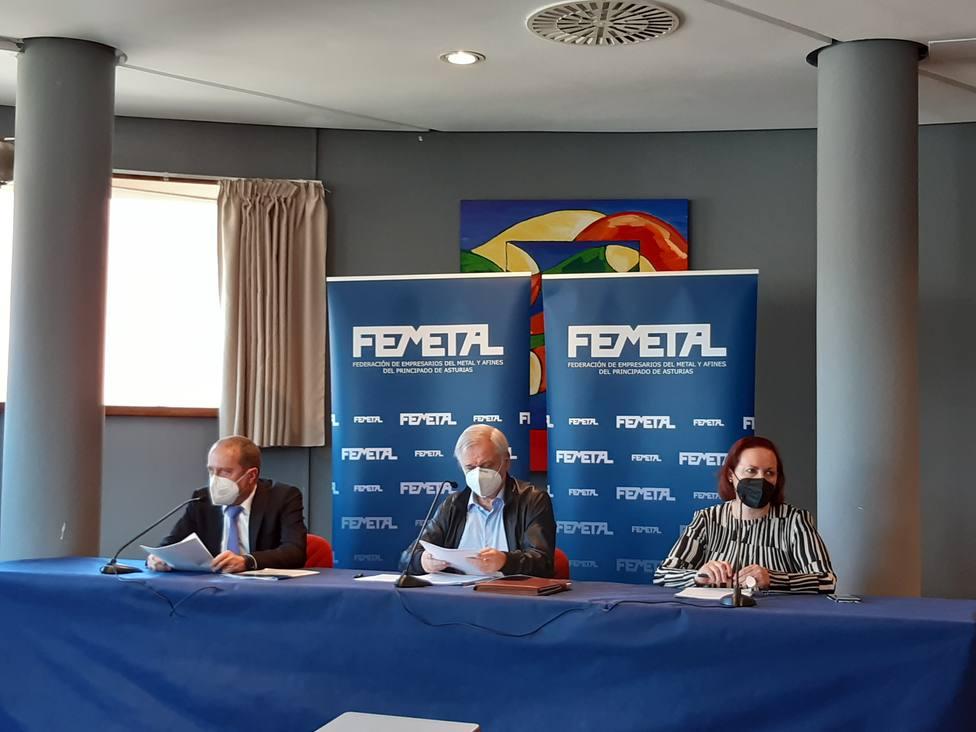 Foto FEMETAL (Presentación balance 2020) Europa Press